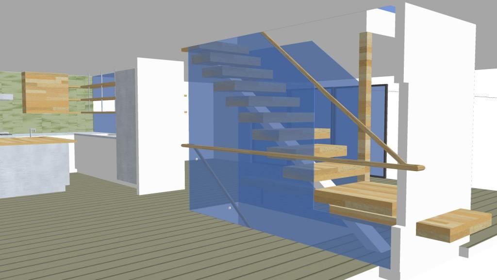 Rose:Rover_kitchen:stair2_6.26.15