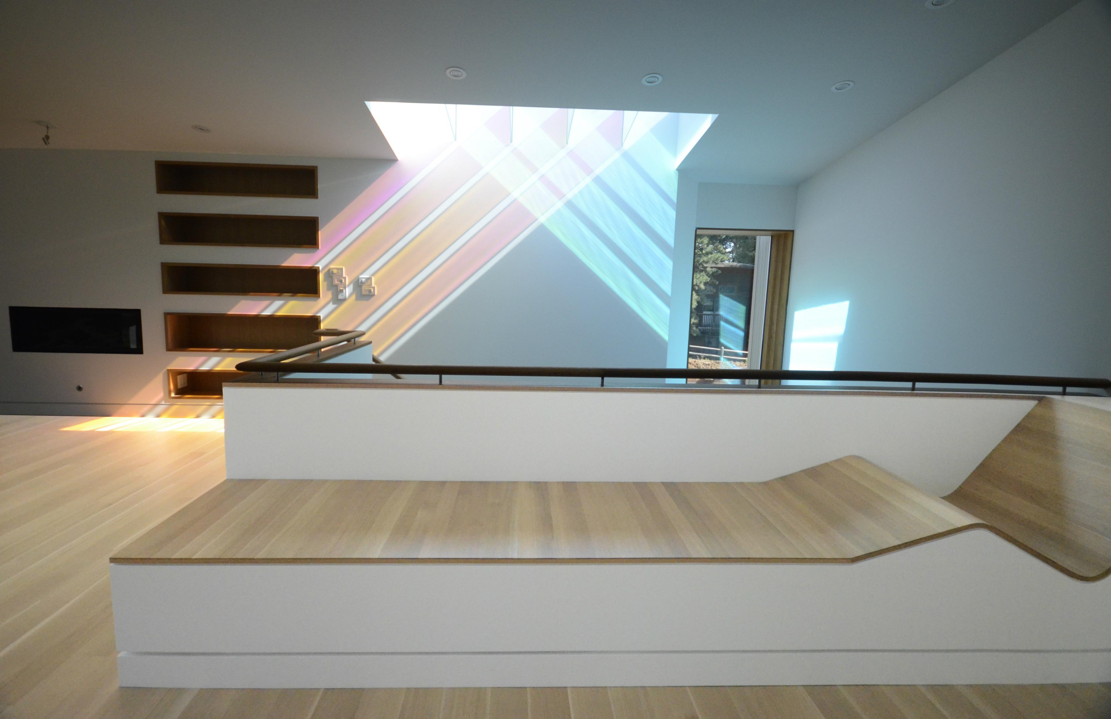 Levitt Architects 187 Dichroic Glass Work